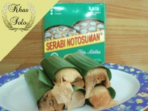 Serabi Notosuman Solo Original