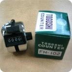 TOGOSHI Hand Counter 4 Digit ( Alat Hitung)