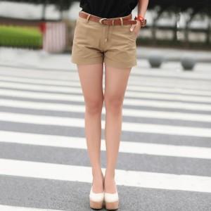 Basic Cotton Shorts / Celana Pendek Hotpants (S-M-L-XL)