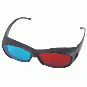 Kacamata 3D nVidia Vision Red/Cyan Red/Cyan