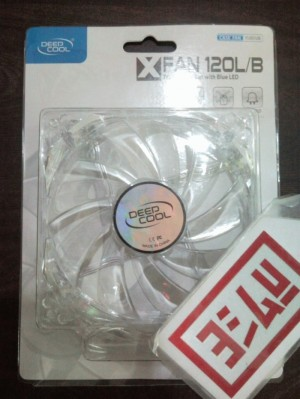 DeepCooL X-Fan LED 12cm CASE FAN