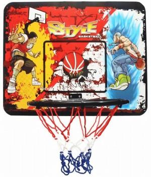 Ring Basket Basketball Sport Style Set