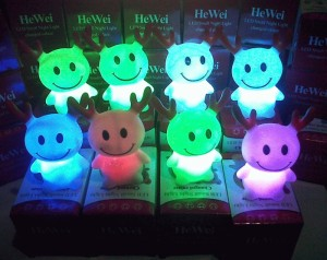 Lampu kijang lucu menyala 7 warna