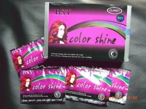 BSY NONI Shampo Warna / BSY Color Shine ORIGINAL - CLARET