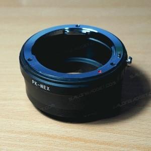 Adapter Lensa NEX - Pentax PK