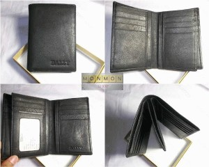 Dompet  Bally Leather Genuine