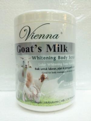 Vienna body scrub goat's milk 1000 ml