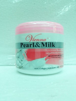 Vienna body scrub pearl and milk 250 ml