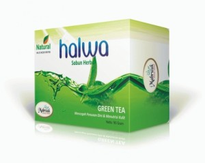 Sabun Halwa Green Tea 90 grm