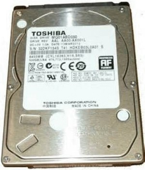 "HDD Internal - Toshiba - 2.5"" / 2.5 inch 500 GB (notebook HDD/ portab"
