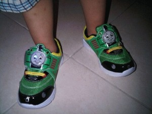 Percy shoes with lighting