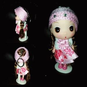 G.kunci&pajangan Ddung pink dress