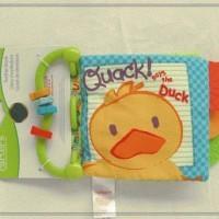 Teether Book/Softbook motif Duck -BKT001