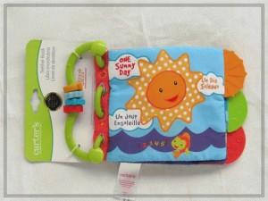 Teether Book/Softbook motif Sun  - BKT002