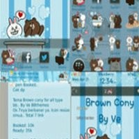 Cute Brown & Cony (For os 5-7) BEST SELLER !!!!