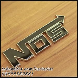 Emblem NOS Hitam