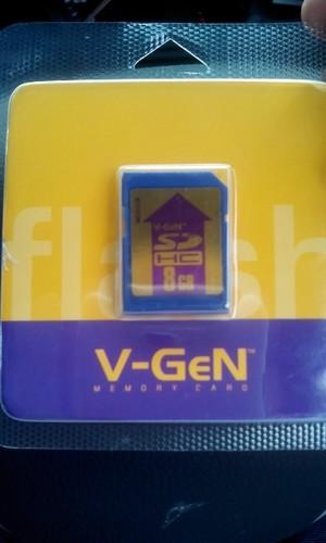 SD CARD 8GB VGEN