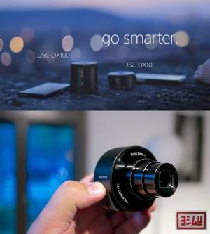 harga SONY Smartphone Cyber-shot DSC-QX10 > the attachable & WiFi Lens-style Camera Tokopedia.com