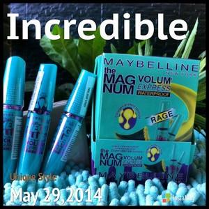Mascara Maybeline Mega Plus volume ekspress