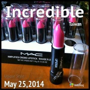 MAC amplified creme lipstick colors Pink