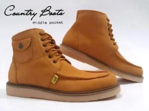 sepatu country boots kode boots saku original