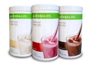 SHAKE MIX FORMULA 1 HERBALIFE (Chocolate, Berry, Vanilla)