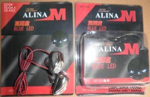 Lampu Wiper Mobil merk Alina (7 Warna)