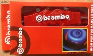 Cover Cakram Rem Brembo Tutup Caliper - cetak Emboss