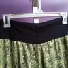 Green batik cullot pants