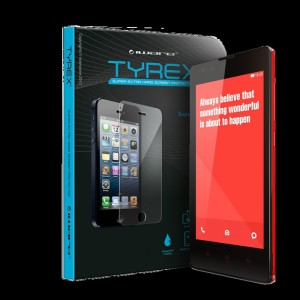 TYREX Tempered Glass Screen Protector XIAOMI REDMI 1S ORIGINAL .
