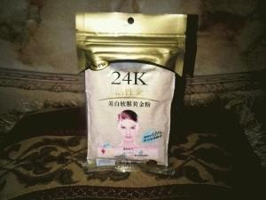 Masker Emas Bubuk 24k