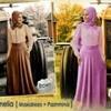 KAMELIA MAXI DRESS +PASHMINA