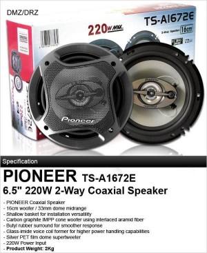 Speaker Pioneer TS-A1672E (Coaxial Speakers)