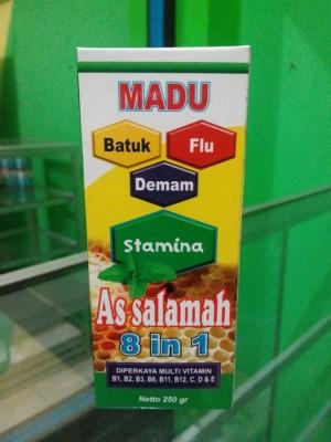 Madu (batuk, flu & demam) As salamah