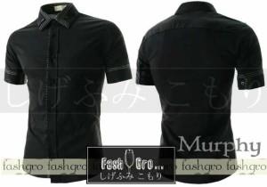kemeja murphi black