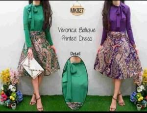Dress Batik MK 627