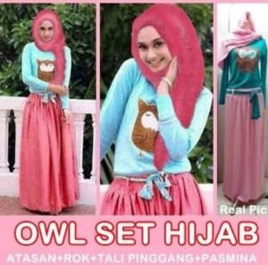 Owl Set hijab