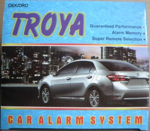 Alarm Mobil / Car Alarm merk Troya