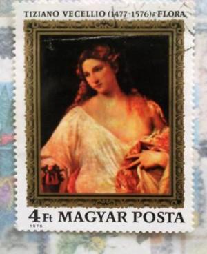 Tizianno Velecio Magyar posta 1976