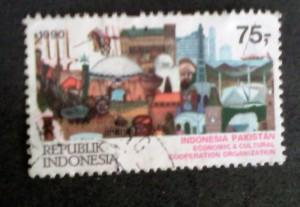 Prangko indonesia pakistan