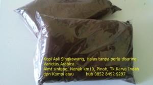 Kopi Asli Arabica ( bubuk halus tanpa timbul & tanpa pengawet )