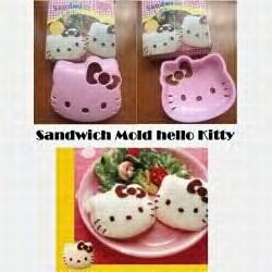 Sandwich/Rice mold Hello Kitty - Cetakan bento Hello Kitty