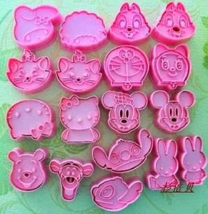 Cookies Cutter - Cetakan cookies aneka karakter