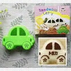 Sandwich/Rice mold Car - Cetakan bento Mobil