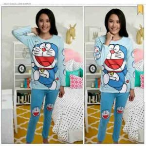 Setelan Celana Panjang Doraemon Very Happy