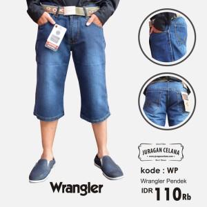 Celana Jeans Wrangler Pria (Pendek)
