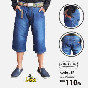 Celana Jeans Lois Pendek Pria