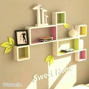 Jual Rak Display Untuk Ruang Tamu Minimalis Duco At 3 Box Kab Mojokerto Ihanbay Tokopedia