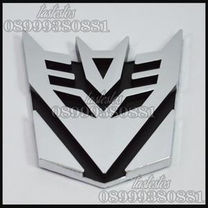 Emblem Transformers Decepticons ( Medium Size )