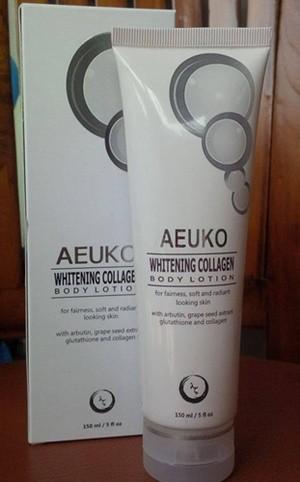 AEUKO WHITENING COLLAGEN BODY LOTION